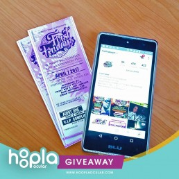 """follow, like & comment on our page, then win tickets to""""first fridays   90's"""
