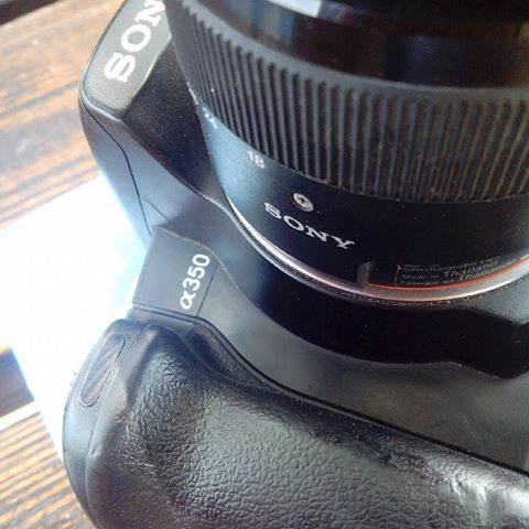 you have been with us for 3 years now always reliable. our #sony #alpha #a350 wi